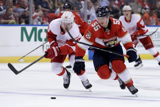 Detroit Red Wings clobbered again, this time by Florida Panthers, 4-0