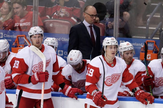 The Red Wings have struggled through the first quarter of the season.