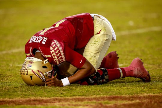 FSU's offense totaled just 203 yards of total offense on Saturday.