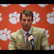 Clemson head coach Dabo Swinney talks about running back Travis Etienne's performance in the Wofford game, and the first long run he ever saw Etienne make.