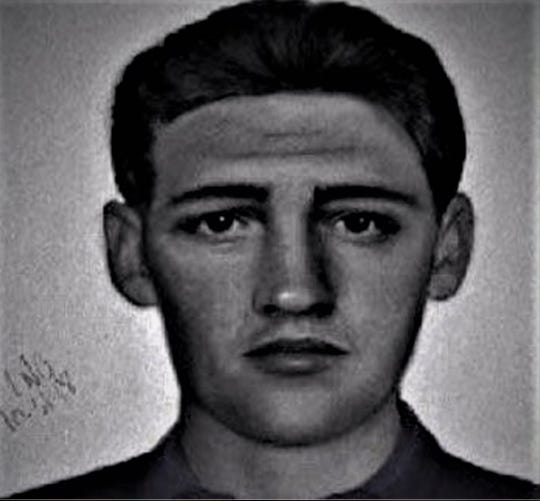 The South Carolina Highway Patrol released this sketch of a hit-and-run suspect after Greenville biker Ben McCall collided with a vehicle at Woodruff and Anderson Ridge roads on Oct. 15, 2018. McCall survived but spent months recovering from his injuries. On Sunday, Nov. 3, 2019, McCall held a press conference to thank EMS workers who saved him and to renew efforts to find the driver.