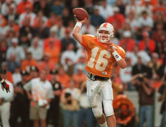 Peyton Manning completed his first college pass on Sept. 17, 1994 against Florida.