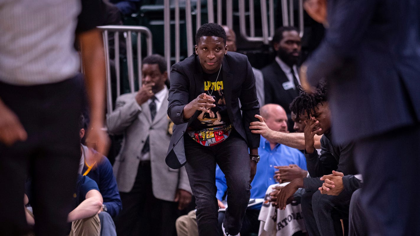 Pacers guard Victor Oladipo listening to his body; won't set timetable for return