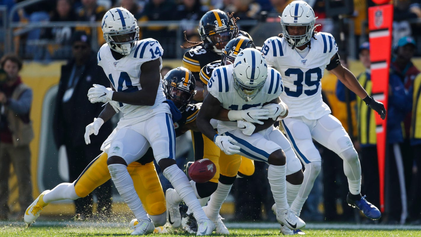 Steelers Colts