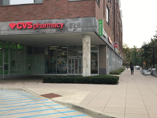 A CVS Pharmacy is at 720 Northwestern Ave. in West Lafayette, across the street from Purdue University's Mackey Arena, in the Fuse building.