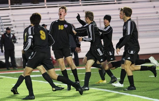 Lexington's soccer team had plenty to celebrate this year after reaching the Final Four for the first time since 2008