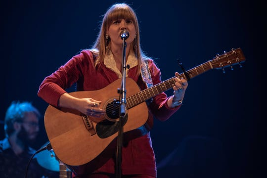 Courtney Marie Andrews opens for Tyler Childers at the Riverside Theater in Milwaukee on Nov. 2, 2019.