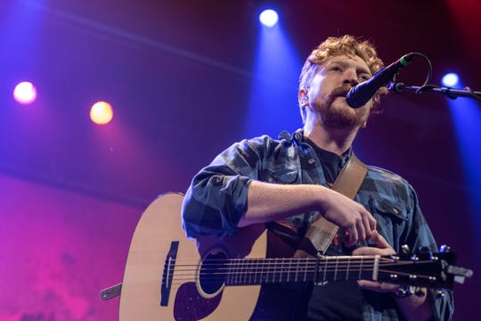 Tyler Childers performed at a sold-out Riverside Theater on Nov. 2, 2019.