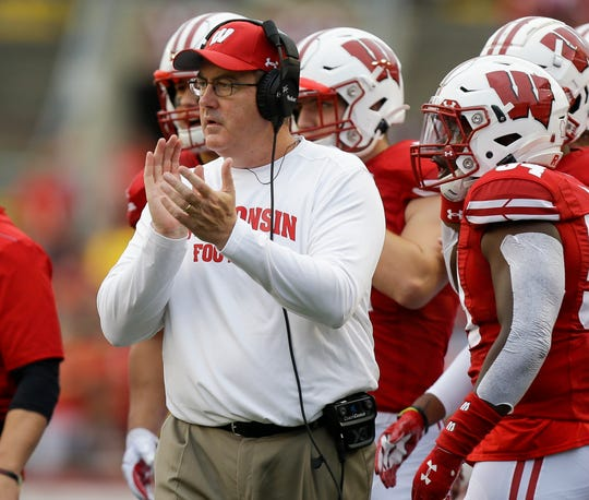 Badgers, who have flourished in November under Paul Chryst, may have to go 4-0 to win the Big Ten West