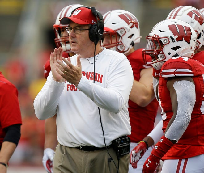 Head coach Paul Chryst is 12-3 in November games in his first four seasons with the Badgers.