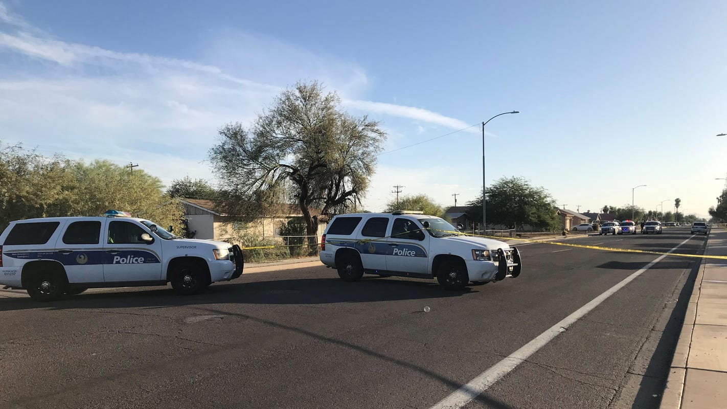 Phoenix police release footage from fatal standoff