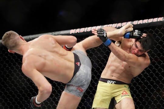 La actividad de UFC regresa en medio de pandemia.