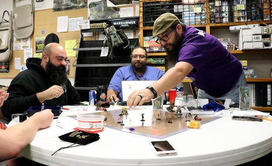 Pathfinder Society of York members participate in a 25-hour long gaming marathon for the organization Extra Life, a charity that donates money to Children's Miracle Network Hospitals, Sunday, November 3, 2019.Tina Locurto photo