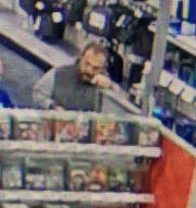 A suspect wanted by Springettsbury Township Police in connection with an access device fraud, where more than $6,000 in items were bought with a victim's credit card at Best Buy, 2865 Concord Road, on October 30.