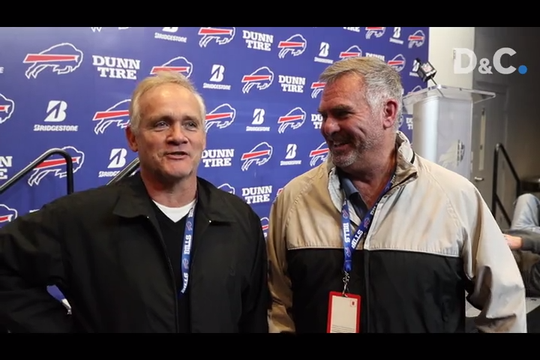 Sal Maiorana and Leo Roth will spend their Thanksgiving bringing D&C readers a full report on the Buffalo Bills football game against the Dallas Cowboys.