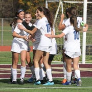 Haldane defeated Leffell, formerly Solomon Schecter 3-1 in the Section 1 Class C girls soccer championship at Arlington High School Nov. 3, 2019.