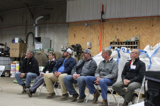 A panel made up of consultants and farm hosts answer questions.