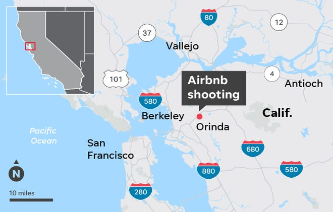 California Halloween Shooting 5 Killed Airbnb Bans Party Houses