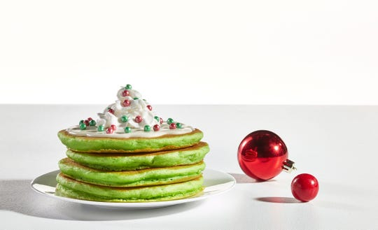 Jolly Cakes are part of IHOP's new Elf on the Shelf menu.