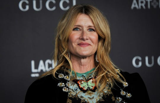Laura Dern arrives at the 2019 LACMA Art + Film Gala at the Los Angeles County Museum of Art in Los Angeles.