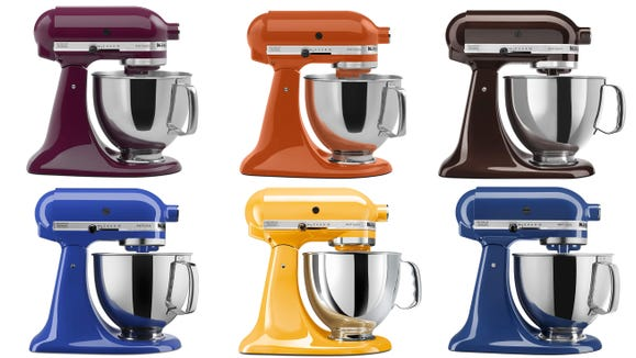 Get this iconic stand mixer in seasonal colors.