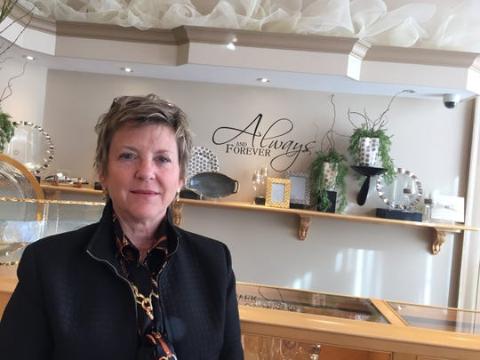 Gina Mowry-McHugh, pictured in 2015, is the president of The Goldsmith, located inside the Kilmer Building, 31 Lewis St., Binghamton.
