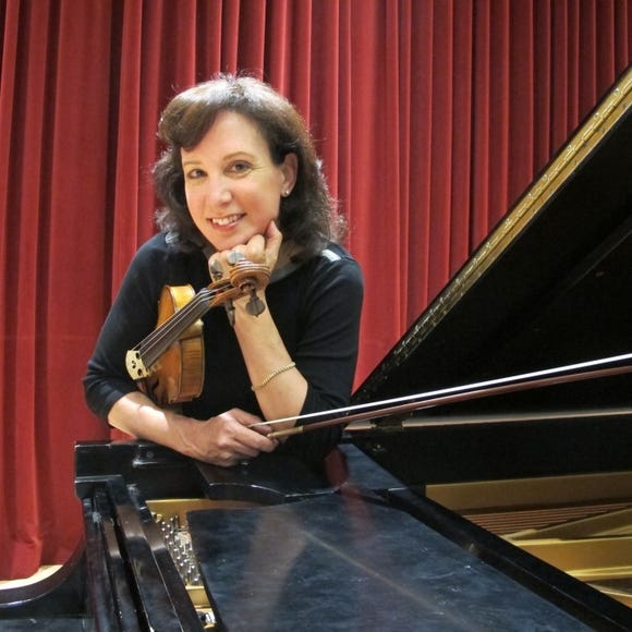 """Maria Larionoff plays Vasks' """"Distant Light"""" with the Bainbridge Symphony Orchestra Nov. 9 and 10."""