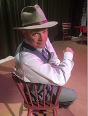 Rob Kenna stars as the comedic sleuth Lieutenant Frank Cioffi in 'Curtains the Musical.' The show runs Nov. 8-24, 2019 at Surfside Playhouse in Cocoa Beach. Call 321-783-3127 or visit surfsideplayers.com.