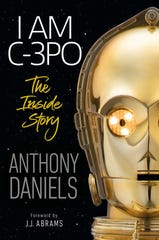 "Cover of the book, ""I Am C-3PO: The Inside Story"" by Anthony Daniels."