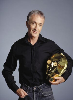 """Star Wars actor Anthony Daniels, who portrays C-3PO, will appear at Joseph-Beth Booksellers to discuss and sign his new memoir, """"I Am C-3PO: The Inside Story."""""""