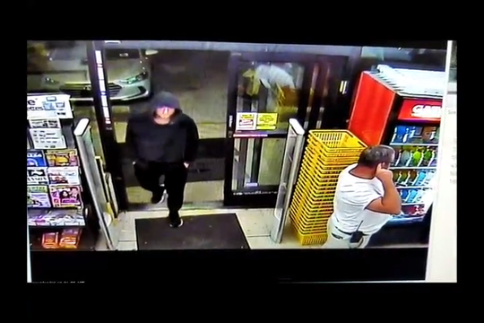 Man attempts to rob two different stores, fled empty handed both times. Oct. 28, 2019