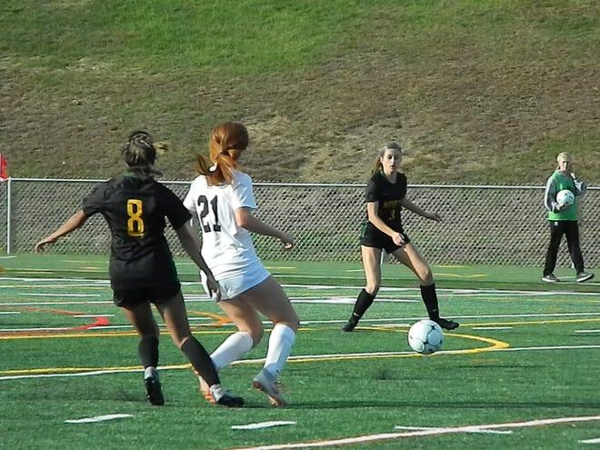 Bridgewater-Raritan at North Hunterdon girls soccer in the NJSIAA North 2 Group IV semifinals on Monday, Nov. 4, 2019.