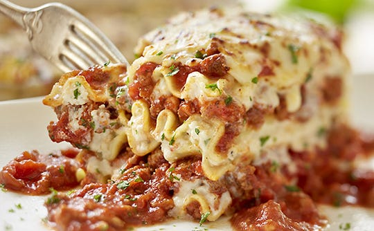 Lasagna Classico from Olive Garden.