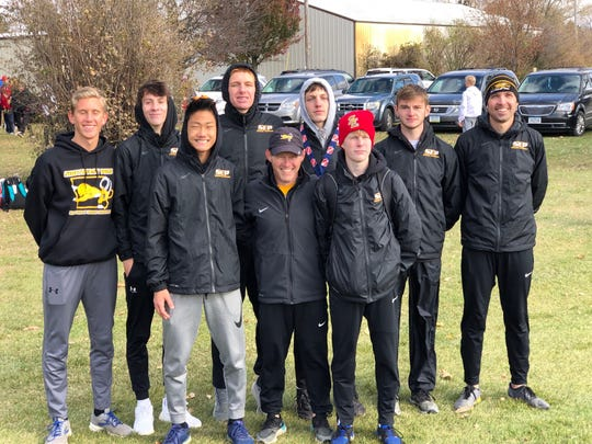 The Southeast Polk boys' cross country team finished ninth at the state meet last weekend in Fort Dodge.