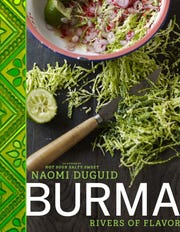 "Book cover of ""Burma"" by Naomi Duguid."