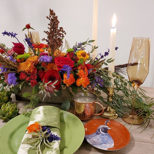 Flowers by Gabrielle will host a Thanksgiving Tablescape Workshop on Nov. 26 at its Roseville location.