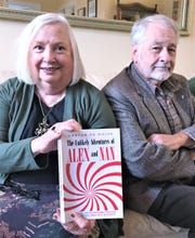 Authors Martha Horton, of Elmira, and Alan DeWolfe, of Corning, have written a new mystery novel featuring two senior citizens as lead characters.