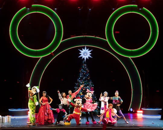 "The tour of the ""Disney Junior Holiday Dance Party"" will stop at the Clemens Center Friday evening."