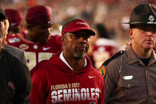 Willie Taggart finished his career at FSU with an overall record of 9-12