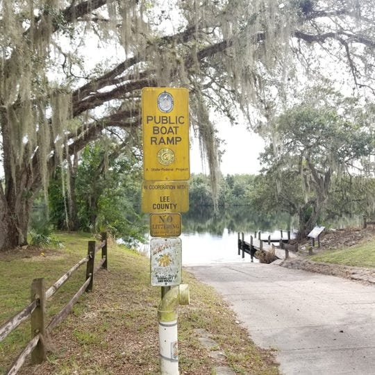 The Alva boat ramp in northeast Lee County, opened nearly 30 years ago, will be expanded with a two-lane boat launch, better parking and a general sprucing with the help of $500,000 in boat registration fees collected by Lee County.