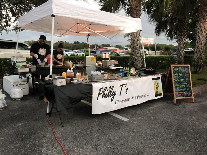 Philly T's Cheeseteak & Po'boys food truck serves at breweries and events around Southwest Florida.