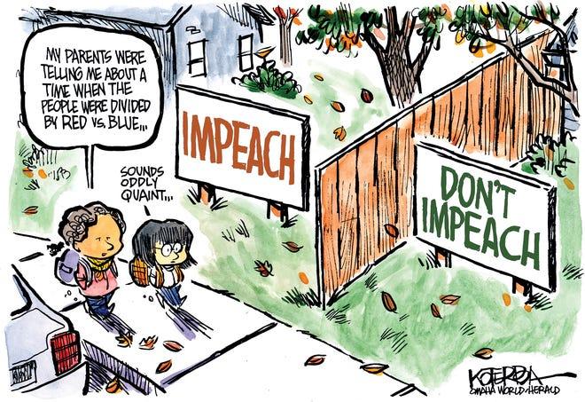 Impeach vs. don't impeach.