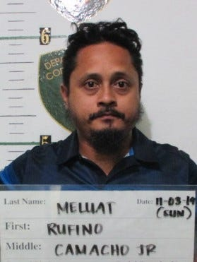Rufino Meluatis charged with driving while impaired as a misdemeanor.