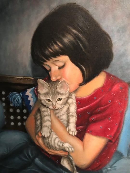 """Rachel's Love for Kubby"" by Shirley Davis"