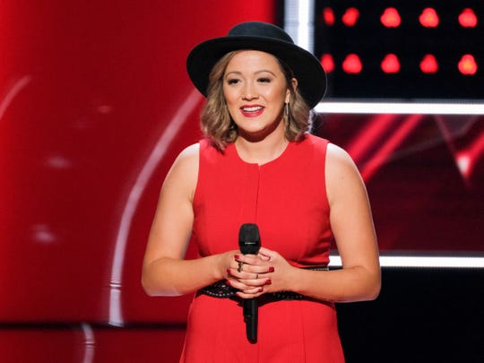 "Former Ball State University soccer player Lauren Hall is a competitor on ""The Voice."""