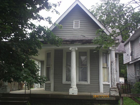 Katrina Carter and her then-husband Quentin Lintner lived in this single-family house at 910 North Oakland Avenue, which is at the center of the dispute.