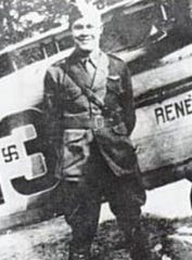 Lt. Karl Schoen of Indianapolis was a World War I flying ace.