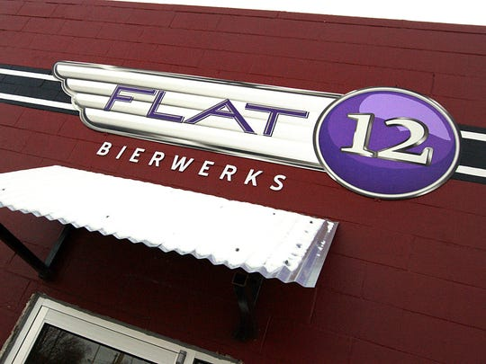 This 2011 photo shows the exterior of Flat12 Bierwerks, 414 N. Dorman St.