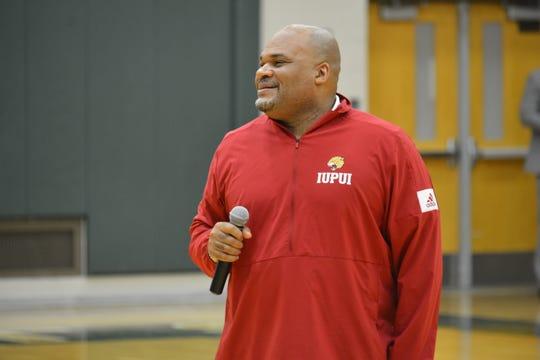 New IUPUI interim coach Bryon Rimm.