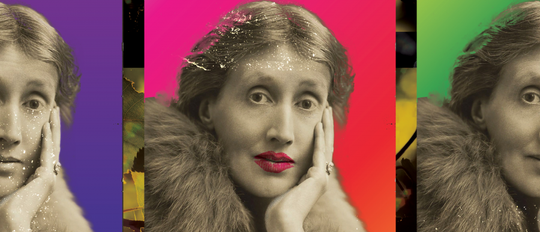 """Promo image for """"Orlando"""" from Virginia Woolf, adapted for the stage by Sarah Ruhl."""